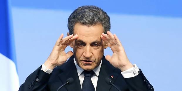 En visite à Bruxelles, Nicolas Sarkozy reste muet sur sa mise en examen - La Libre