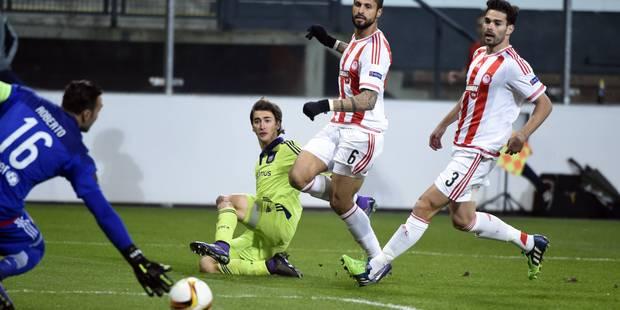 Anderlecht prend l'avantage contre l'Olympiacos (1-0) - La Libre