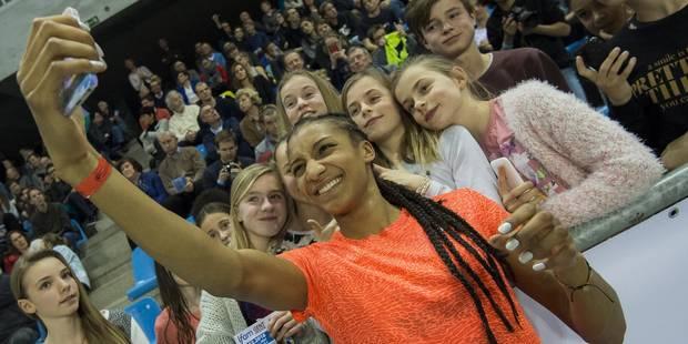Nafissatou Thiam bat son record de Belgique du saut en longueur en salle - La Libre