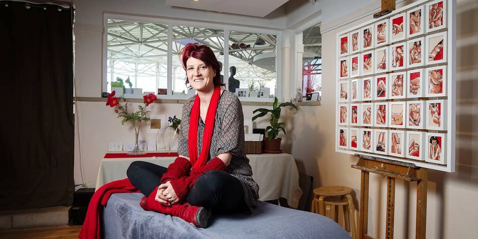 Corinne Pitet - modèle d'art - Croquez-Moi
