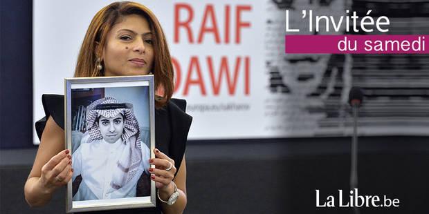 """Ensaf Haidar : """"En Arabie saoudite, la majorité des gens sont opposés à Raif Badawi"""" - La Libre"""