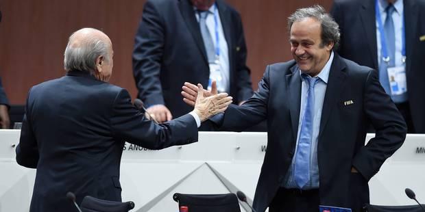 Les suspensions de Blatter et Platini réduites - La Libre