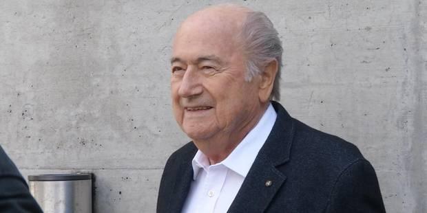 """Blatter à Infantino : """"Une fois président, les amis deviennent rares"""" - La Libre"""