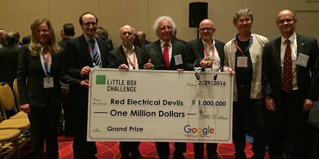 Une PME wallonne gagne une bourse décernée par Google - La Libre