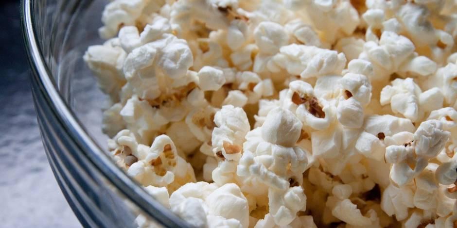 Apéro, collation : pensez popcorn