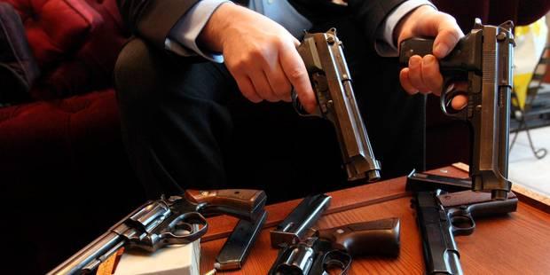 """Près de 650.000 armes enregistrées en Belgique, 117.000 toujours """"manquantes"""" - La Libre"""