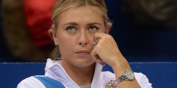 Dopage: le meldonium, ce produit qui a fait chuter Sharapova - La Libre
