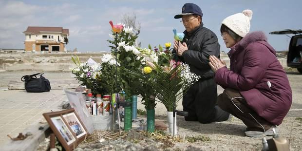 Japon: 11 mars, 14h46, hommage national aux victimes du tsunami de 2011 - La Libre