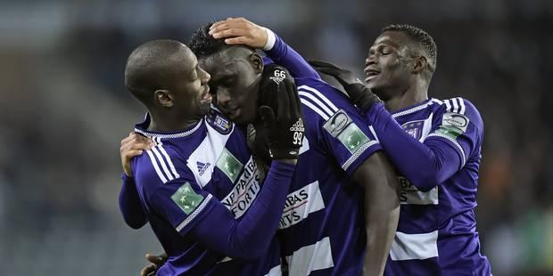 Anderlecht assure face à Courtrai (3-0) - La Libre