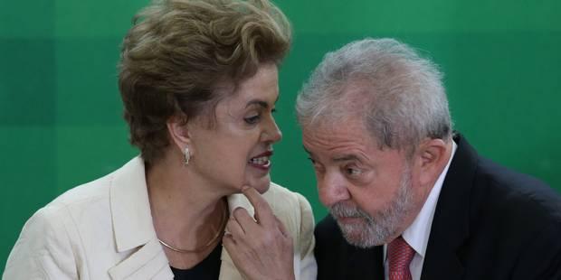 Brésil: le gouvernement fait appel de la suspension de la nomination de Lula - La Libre