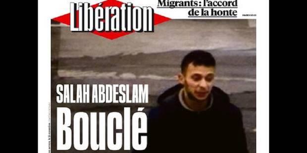 Salah Abdeslam en première page des médias internationaux - La Libre