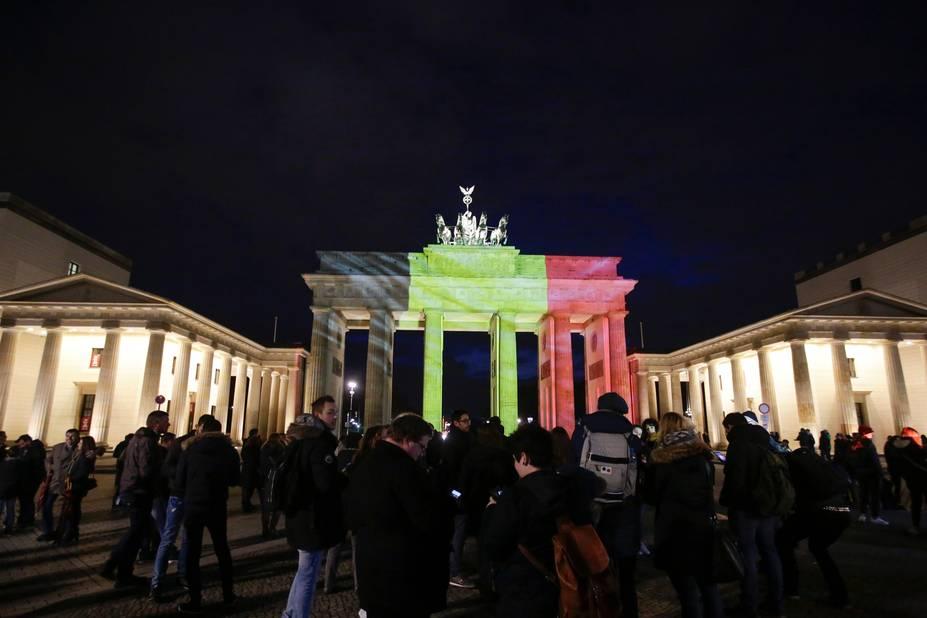 Berlin, la porte de Brandebourg.