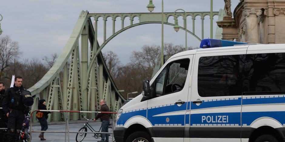 Terrorisme : La police allemande a arrêté trois suspects sur l'autoroute