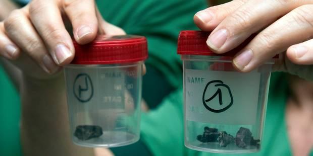Des pièces métalliques, des clous, des vis... voici les projectiles placés dans les bombes terroristes (PHOTOS) - La Lib...