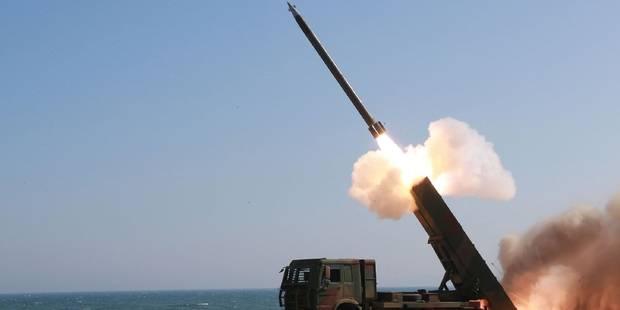 La Corée du Nord tire un missile à courte portée au large de la mer du Japon - La Libre