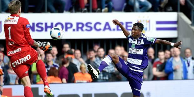 Anderlecht débute les playoffs 1 de la meilleure des manières (1-0) - La Libre