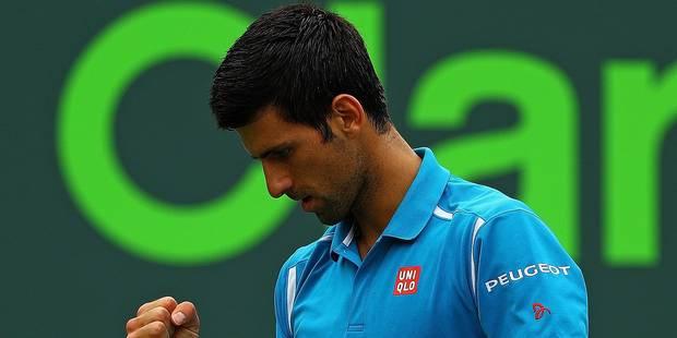 Miami: Djokovic sacré pour la 3e année de suite - La Libre