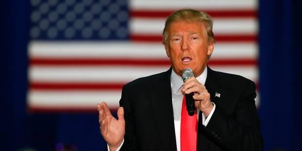 USA: Donald Trump sous pression avant la primaire du Wisconsin - La Libre