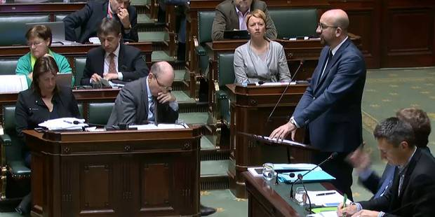 """Jacqueline Galant sous le feu des critiques à la Chambre; Charles Michel demande """"la clarté"""" - La Libre"""