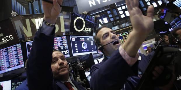 Wall Street finit une bonne semaine sur une petite baisse - La Libre