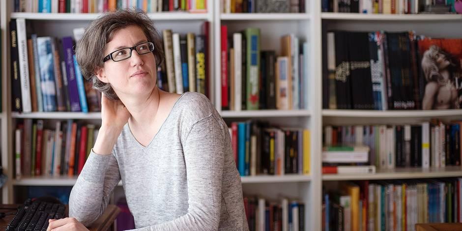 Bruxelles - Molenbeek: Catherine Moureaux à domicile