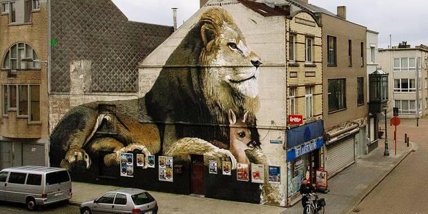 Le street art pleine puissance à Ostende (PHOTOS) - La Libre