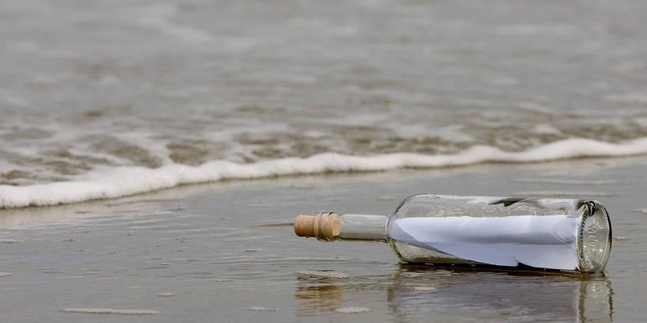 La plus vieille bouteille jetée à la mer découverte 108 ans après