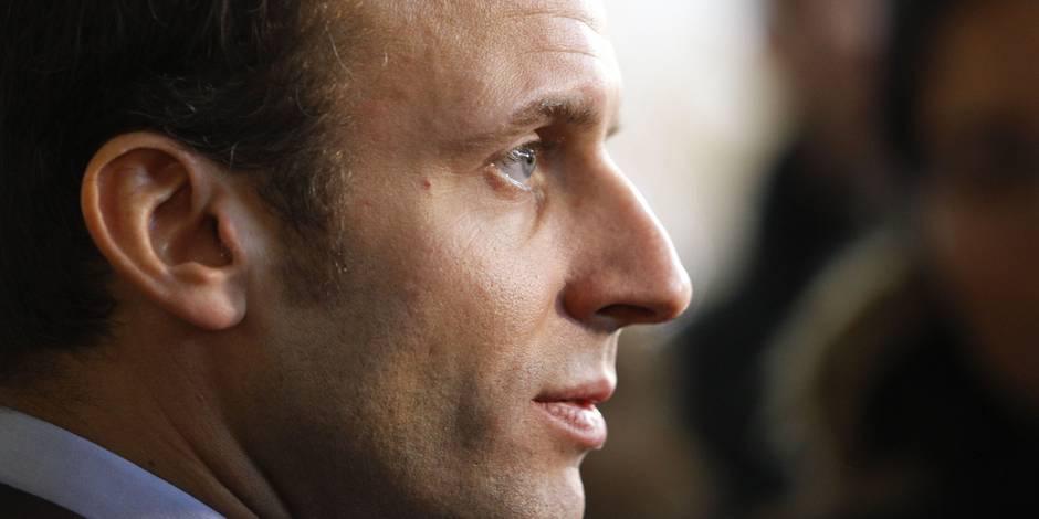 """Emmanuel Macron s'affirme toujours plus: """"Moi je ne mens pas aux gens"""""""
