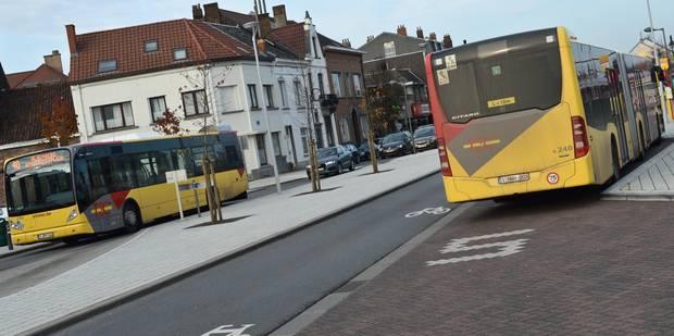 Circulation des bus TEC perturbée en région liégeoise et à Charleroi - La Libre