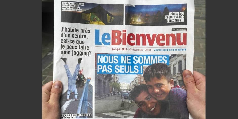Un faux journal pour casser les préjugés sur les migrants distribué à 100.000 exemplaires