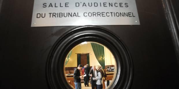 Croquis de justice: il croit venir à son procès, mais c'est déjà le jugement - La Libre