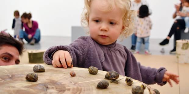 Bébé et l'art contemporain - La Libre