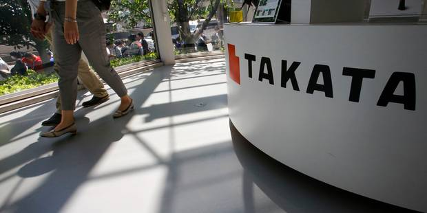 Airbags Takata défectueux: deux décès en Malaisie, le bilan mondial atteint 13 morts - La Libre