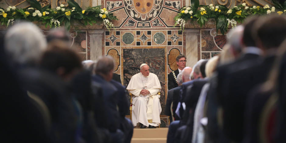 International Charlemagne Prize of Aachen to Pope Francis