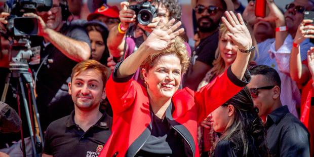 Brésil: annulation du vote des députés sur la destitution de Dilma Rousseff - La Libre