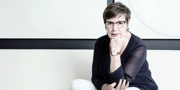 Alda Greoli, (cdH), Vice-Présidente, ministre de la Culture et l'Enfance de la Federation Wallonie-Bruxelles