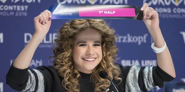 La chanteuse belge Laura Tesoro ouvrira la finale de l'Eurovision samedi à Stockholm - La Libre
