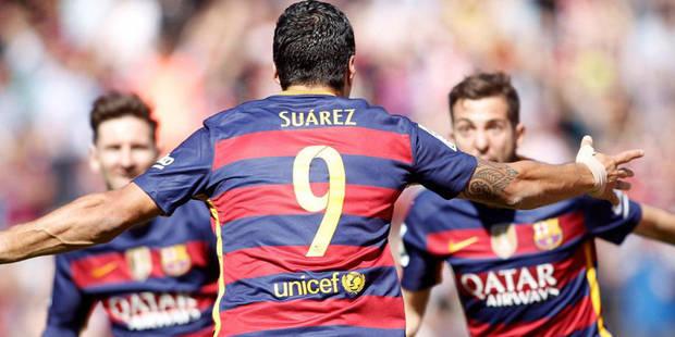 """Liga: champion et """"pichichi"""", le Barça est toujours bien le roi d'Espagne - La Libre"""
