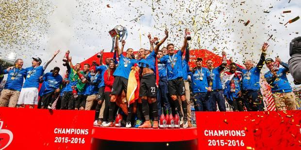 Bruges atomise Anderlecht (4-0) et devient champion de Belgique, 11 ans après (PHOTOS ET VIDEOS) - La Libre