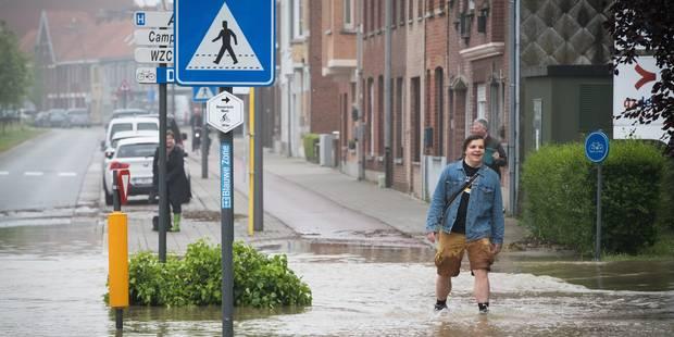 """Intempéries en Flandre: """"De telles précipitations n'arrivent qu'une fois tous les 150 ans"""" - La Libre"""