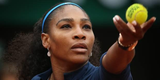 Roland-Garros: Serena Williams en quarts de finale en 62 minutes - La Libre