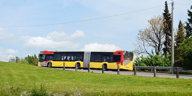 Tec bus transport urbain Brabant wallon grève chauffeur circulation auto voiture ville pollution écologie environnement voyageur billet ticket abonnement