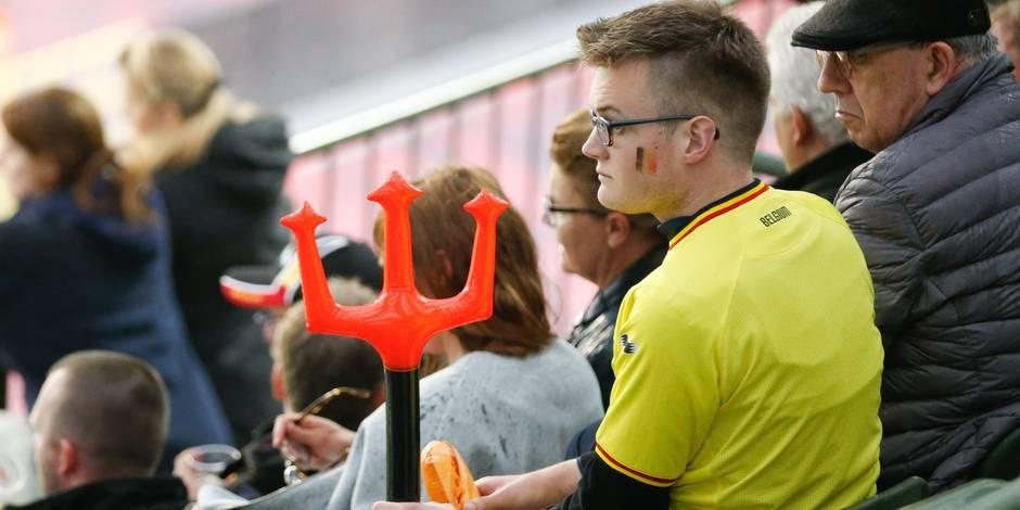 Belgique - Finlande: Les supporters ne digèrent pas le spectacle consternant et le font savoir