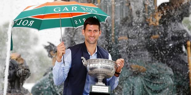 Aujourd'hui, Djokovic est seul au monde, éclipsant Federer et Nadal - La Libre