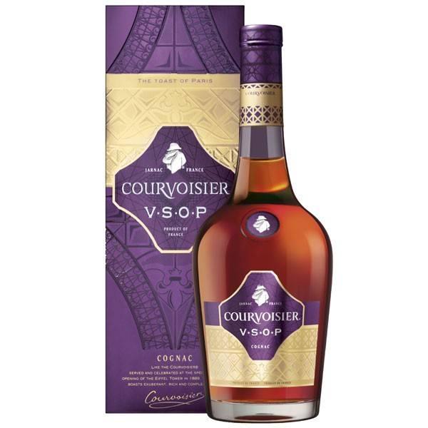 Courvoisier VSOP (qui signifie : Very Superior Old Pale) est un cognac parfaitement équilibré avec des notes de pêches et d'amandes grillées, et avec des touches subtiles de vanille et de jasmin. En 2014, il s'est vu décerner le Master Award de la compétition The Cognac Masters. Prix recommandé : 37,99€