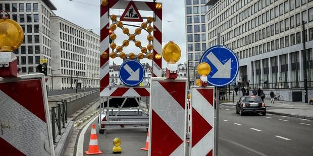 Les 9 chantiers qui auront lieu à Bruxelles cet été - La Libre