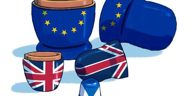 Bruxelles, Westminster et les lignes de fracture - La Libre
