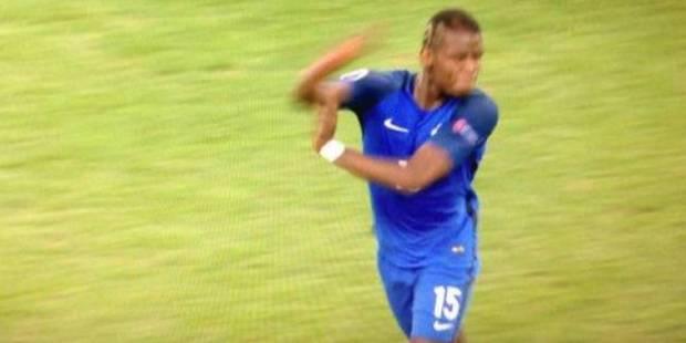 Paul Pogba a bien fait un bras d'honneur après le 2-0 face à l'Albanie - La Libre