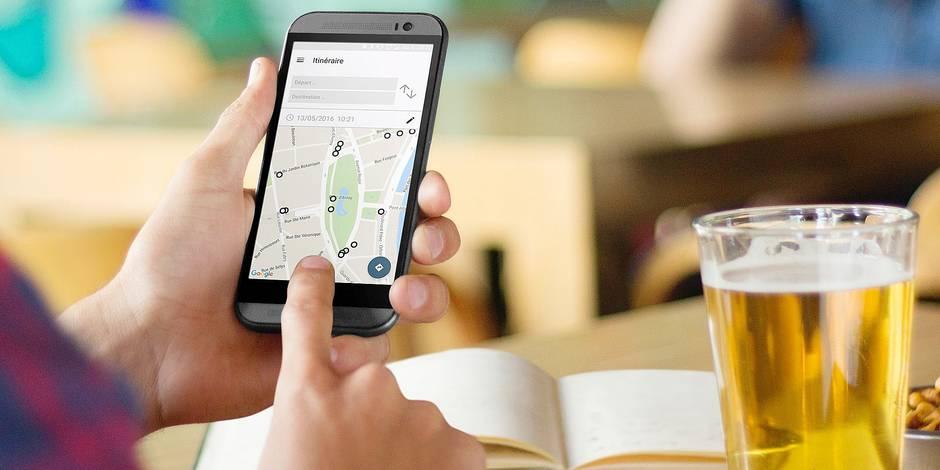 La start-up liégeoise NextRide informe en temps réel les clients de la Stib et du Tec.