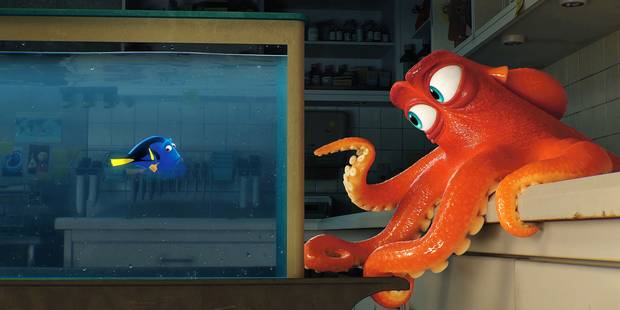 """""""Le Monde de Dory"""" : Pixar surfe à nouveau sur la vague Nemo - La Libre"""